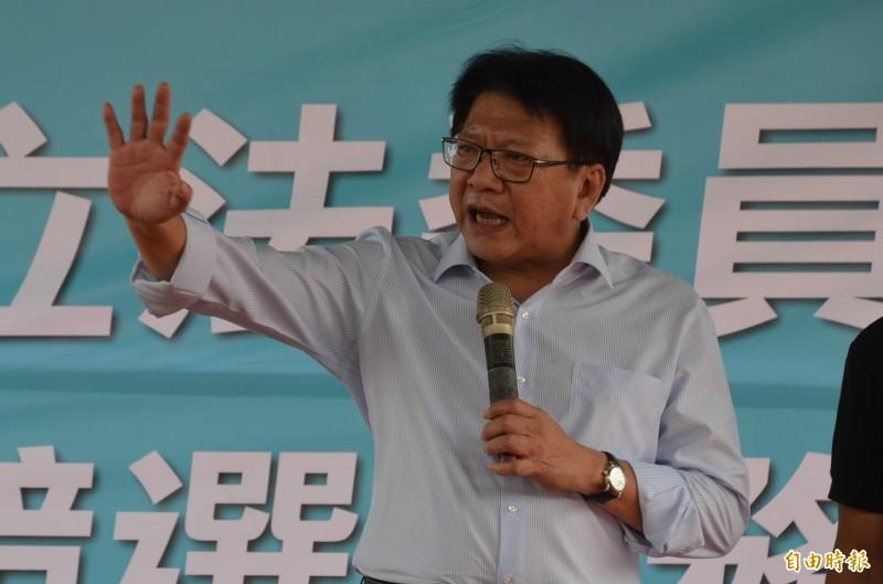 蔡賴配成軍,潘孟安臉書發文大力支持。(資料照)