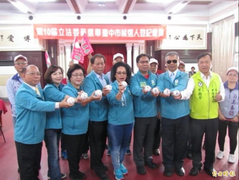 台中市區域立委首日11人登記,另平地原住民立委1人登記。(記者蘇孟娟攝)