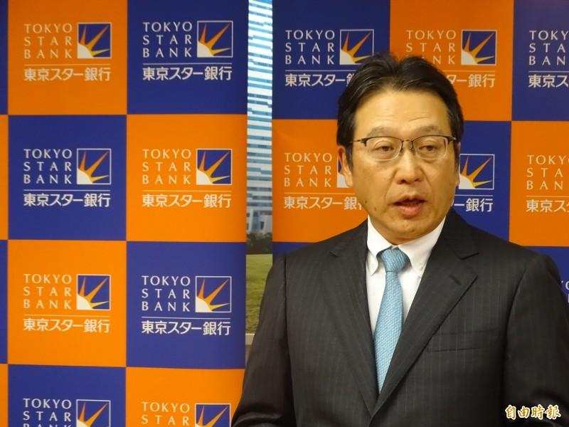日本東京之星銀行總經理佐藤誠治。(記者林翠儀攝)