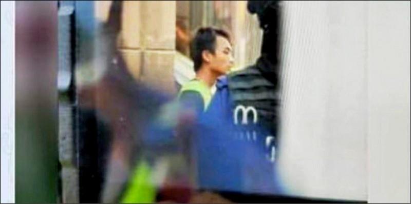 公視在香港的特約編導鄧卓儒遭港警逮捕。(圖取自Telegram)