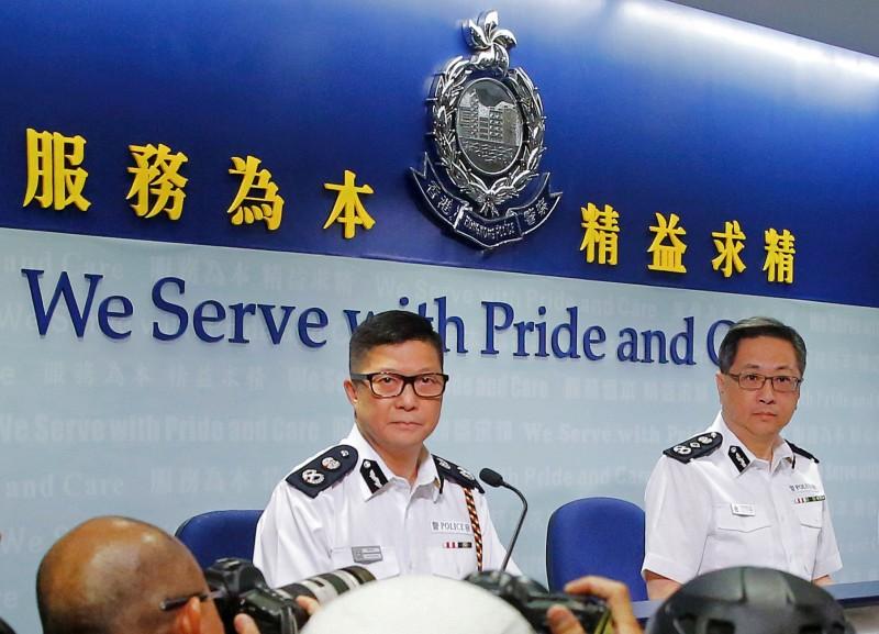 鄧炳強日前在接受訪問時指稱,以過去5個月的表現,香港警隊是「亞洲最優秀」。(路透)