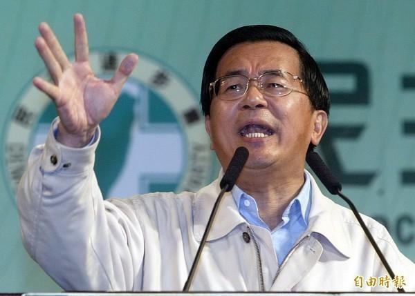 陳水扁(見圖)表示,吳敦義帶兵打仗,2018年地方選舉狂勝,原本是參選總統最佳人選,沒想到沒有天命,處境令人同情。(資料照)