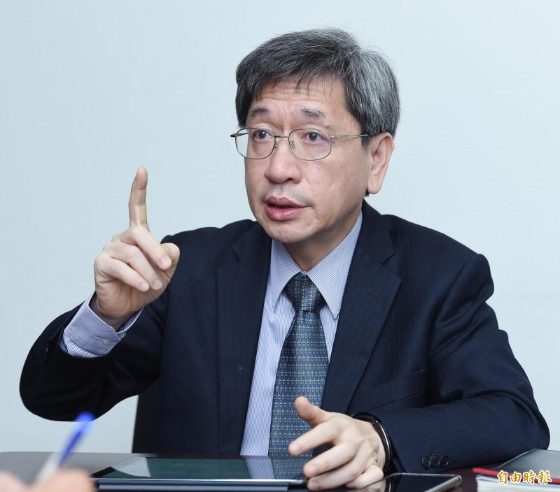 民間司改會董事長林永頌。(資料照)