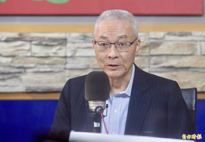 國民黨主席吳敦義19日上午接受廣播節目專訪時表示,這次不分區名單補足了地方執政的不足,對國民黨大選選情是有正面幫助。(記者羅沛德攝)