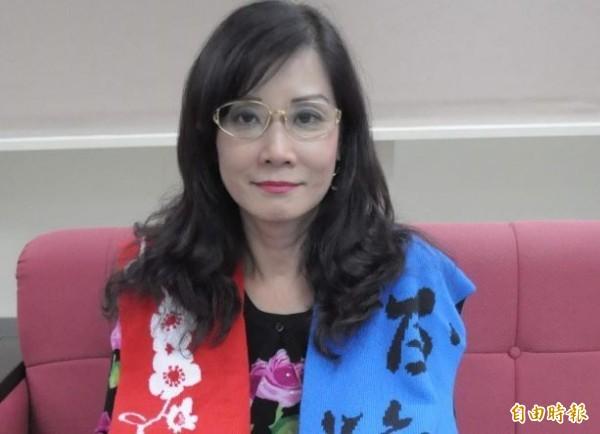 台北市議員秦慧珠。(資料照,記者邱紹雯攝)