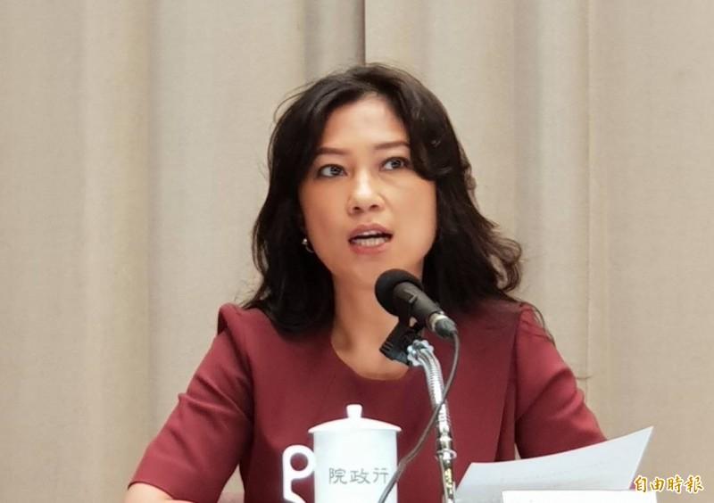 行政院發言人谷辣斯.尤達卡(Kolas Yotaka)反擊說,國民黨團為什麼要一直唱衰台灣?為什麼要一直暗示台商寧願留在中國?(資料照)