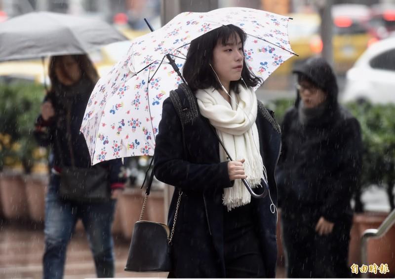 氣象局指出,明北部有短暫雨,東北部恐有持續降雨或局部大雨。(資料照)