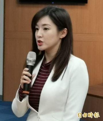 韓國瑜今再被爆曾住在台北市大安區,何庭歡回應,韓親戚所有,「相關細節沒有必要回答」。(記者施曉光攝)