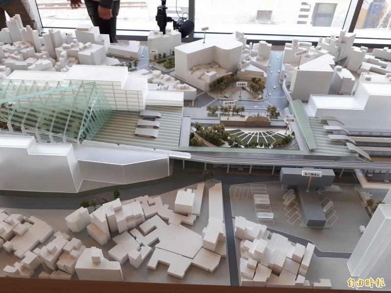 交通部20日通過「新竹大車站計劃可行性研究」案。(記者洪美秀攝)