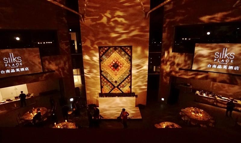世紀婚禮主舞台區。(晶英酒店提供)