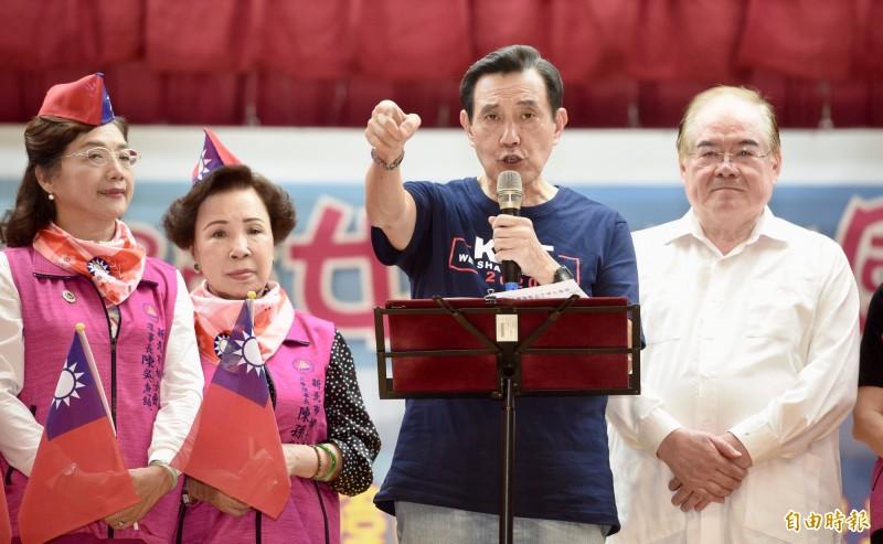 前總統馬英九怒斥邱毅「造謠成性」,不排除提告。(資料照)