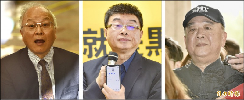政黨不分區立委名單登記,吳斯懷、邱毅、郭冠英,成為媒體報導的焦點。(記者塗建榮、記者羅沛德攝)