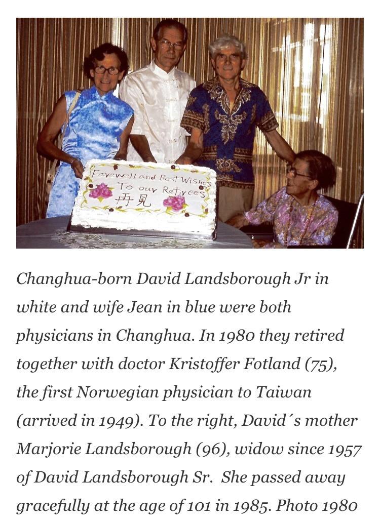 挪威籍醫師傅蘭德(右2)。(記者顏宏駿翻攝自「Norway News」)