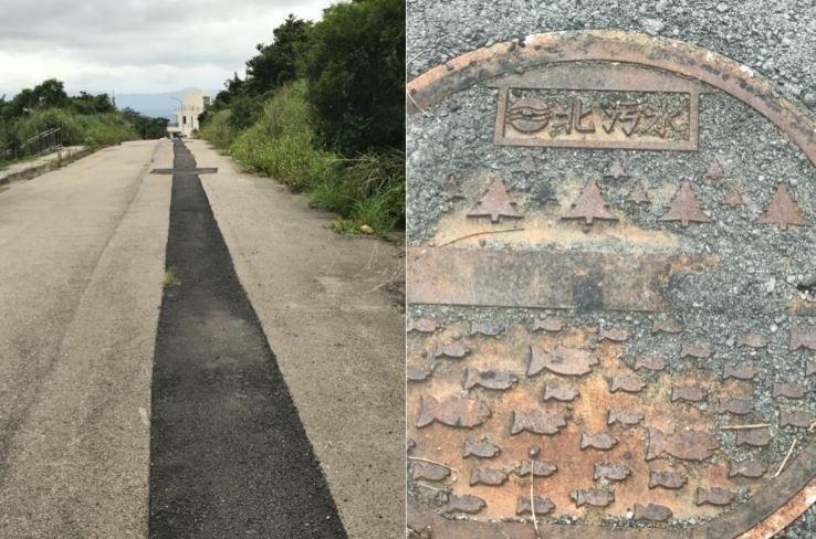 方儉不滿市府違法開挖污水下水道。(方儉提供)