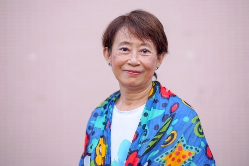 台灣基進不分區立委候選人、高醫性別所退休教授成令方。(記者葛祐豪翻攝)