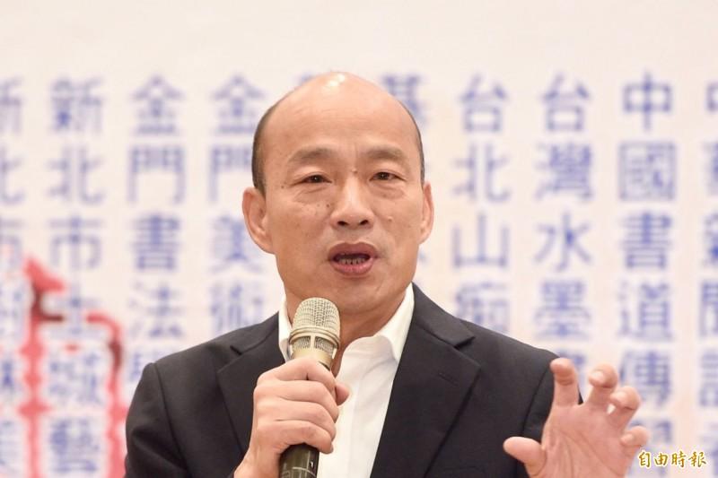 外國媒體報導,中國間諜透過「網路部隊」和間諜干擾台灣2020年總統大選,企圖策劃拉下總統蔡英文,扶植國民黨總統參選人韓國瑜。(資料照)