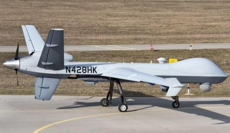 一架非武裝的美軍無人機在21日突然失去蹤影,當時該無人機正在利比亞上空執行任務。圖為MQ-9,美軍無人機示意圖。(擷取自DVIDS網站)