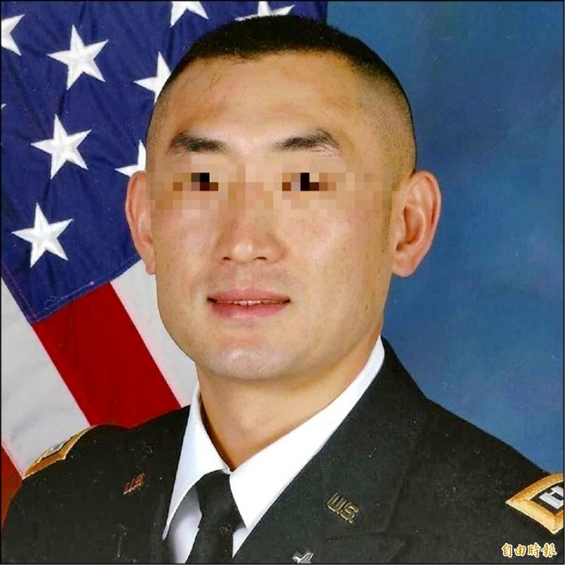 這張被假冒的美國軍官照片、已經被詐騙使用多次、都差一點得逞、還是有人會上當。(記者楊政郡攝)