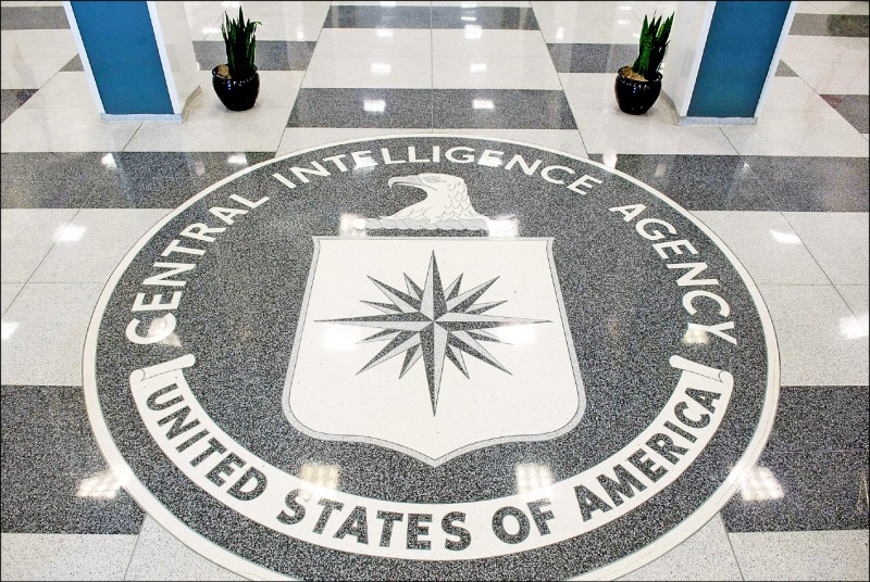 美國中央情報局(CIA)至少有廿名線人因華裔前幹員李振成對外國洩密而喪命。圖為CIA總部大廳。(法新社檔案照)