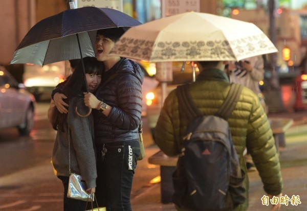明天起因接連2波東北季風南下,下週北台灣又將維持濕涼天氣。(資料照)