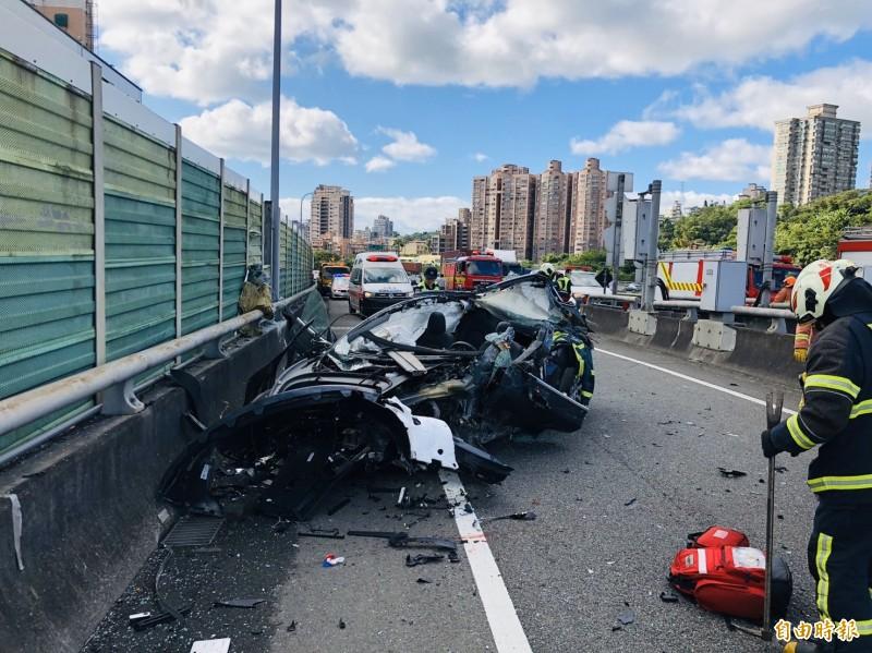 試駕車時發生車禍,肇事試駕者可能得賠償車損。(資料照)