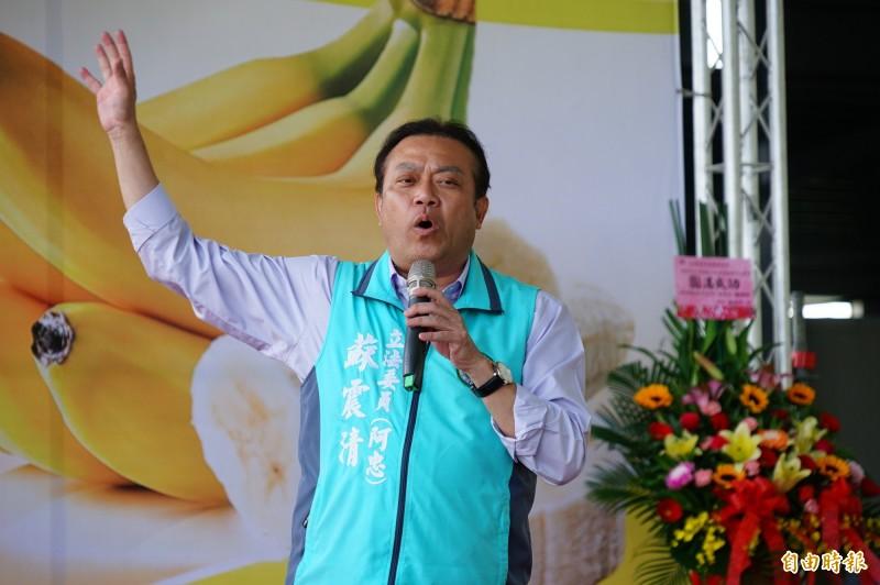 民進黨定調全力支持蘇震清(見圖)。(記者陳彥廷攝)