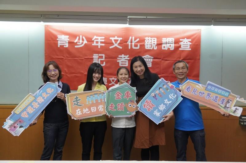 金車今公布青少年文化觀調查,發現近8成不知道台灣沒有世界文化遺產,但認為太魯閣、玉山這兩處具有潛力。(金車文教基金會提供)