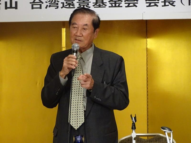 據傳「2049計畫研究所」近日有邀請台灣的遠景基金會赴美共同推演,由遠景基金會董事長、即陳水扁總統時期的外交部長陳唐山率隊前往。(記者林翠儀攝)