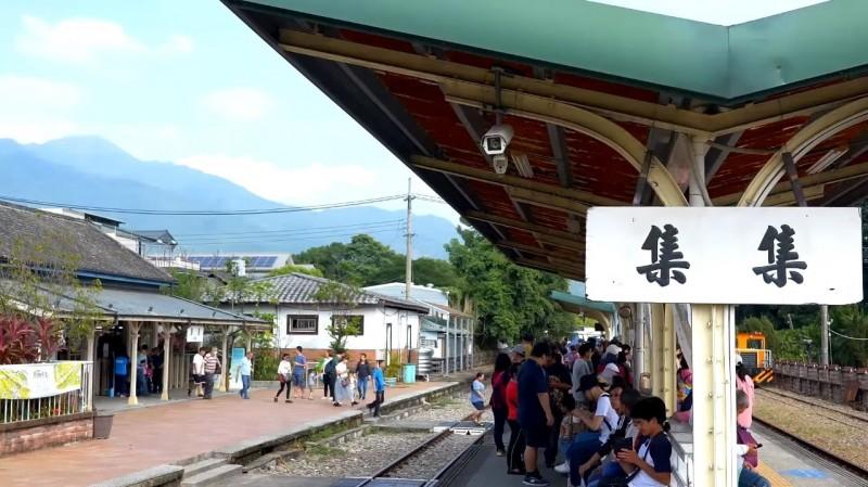觀光局與集集鎮公所推出集集旅遊影片,行銷集集不只有火車香蕉,還有豐富的自然人文產業廟宇文化。(翻攝YouTube)
