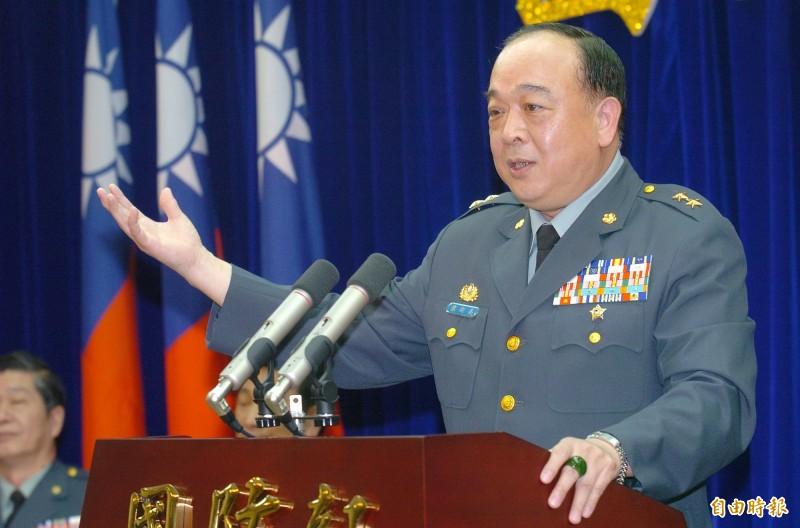 吳斯懷(見圖)過去擔任過國防部作戰及計畫參謀次長室次長,中將退休後曾前往中國北京,還在人民大會堂聆聽席近平訓話。(資料照)