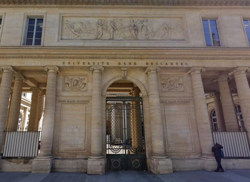 巴黎笛卡兒大學傳出醜聞,校方的人體捐贈中心竟任由數千具遺體腐爛,甚至私下偷賣屍體或人體部位給私人廠商。(圖擷自Google街景)