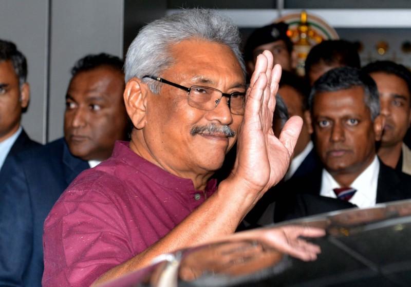 斯里蘭卡新任總統戈塔巴耶.拉賈帕克薩(Gotabaya Rajapaksa)政府以國家利益為由,有意向中國收回南部赫班托達港為期99年的租約。(歐新社)