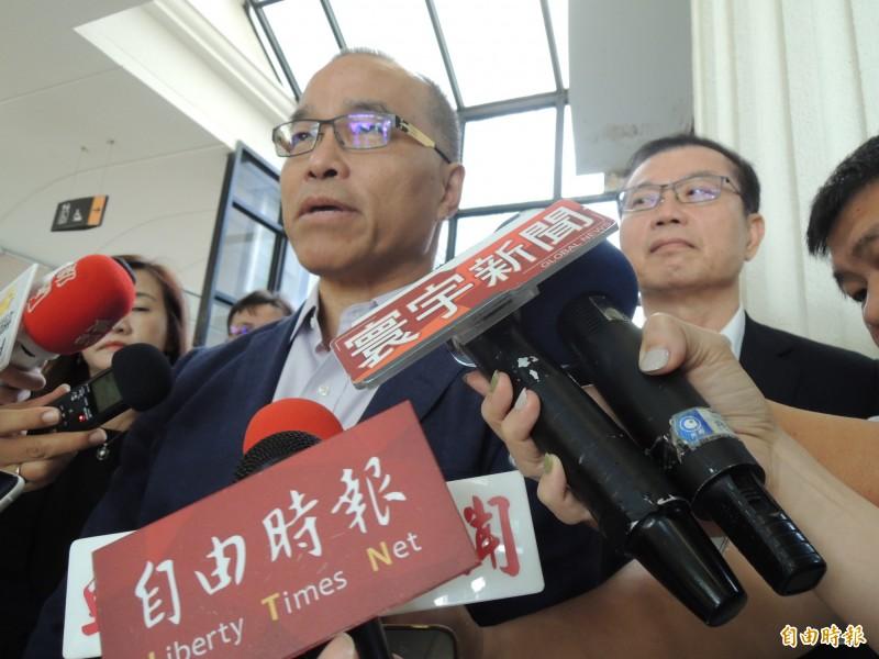 葉匡時說,韓市長目前在選舉,到時候也不會參加這樣的活動,不曉得這些樂團在顧忌什麼?(資料照)