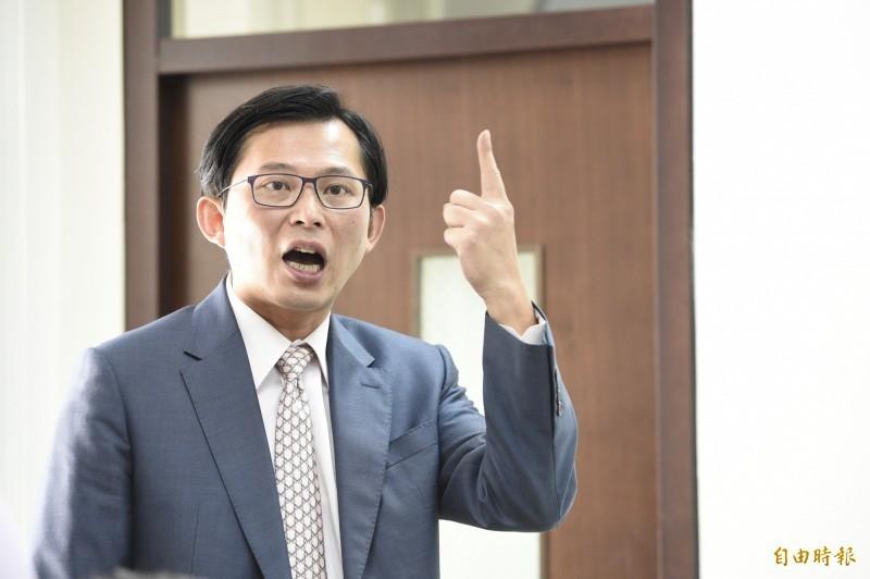 對於韓競辦週一(2日)赴北檢提告,時代力量立委黃國昌(見圖)表示:「等不及韓國瑜被法院認證」。(資料照)