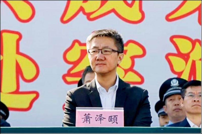 香港警務處副處長蕭澤頤。(取自網路)