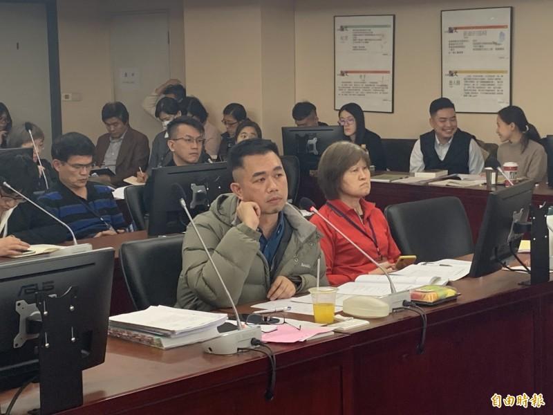 文化局長蔡宗雄無法回應預算細節。(記者郭安家攝)
