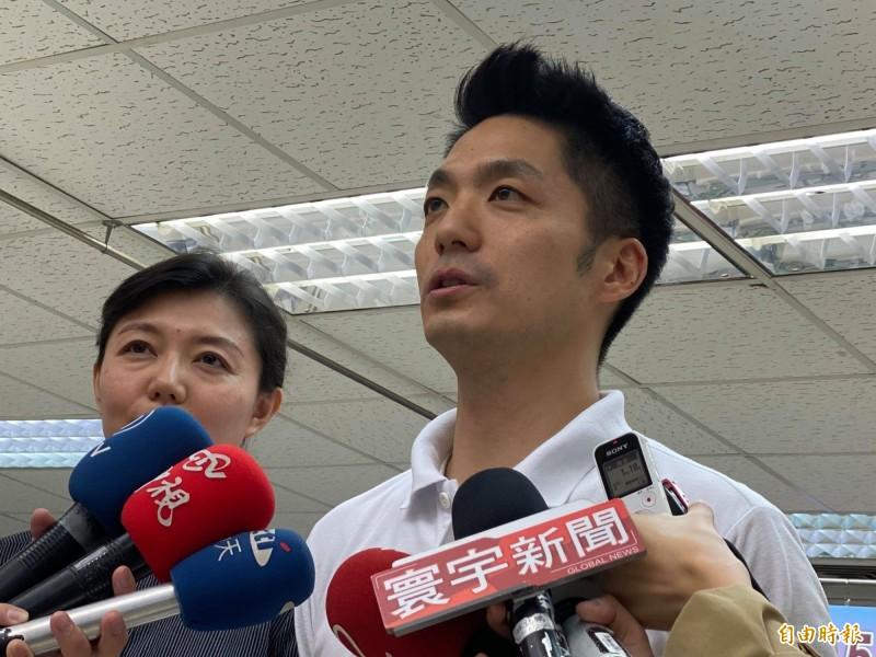 國民黨立委候選人蔣萬安。(資料照)