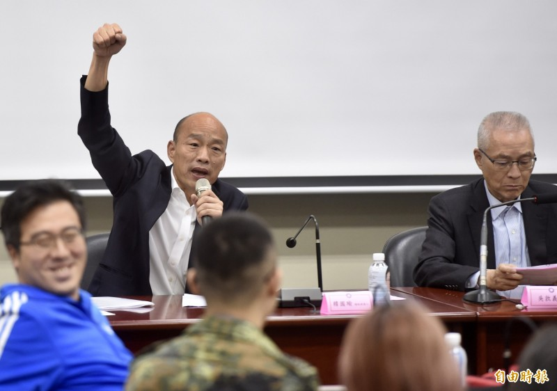 沈富雄在臉書指出造成目前國民黨「全面崩盤」的三個敗象,韓國瑜、吳敦義都是其中關鍵。(資料照)