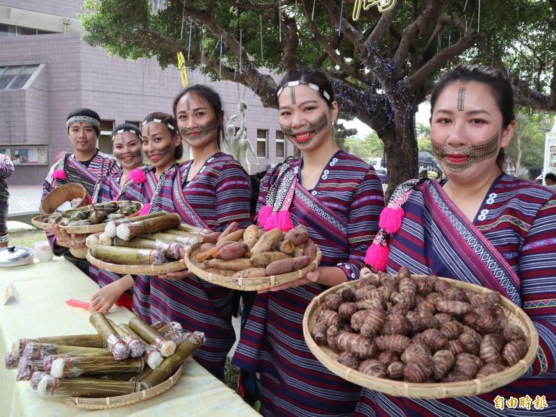 2019原鄉原民葫蘆墩活動,將呈現原住特色美食。(記者歐素美攝)