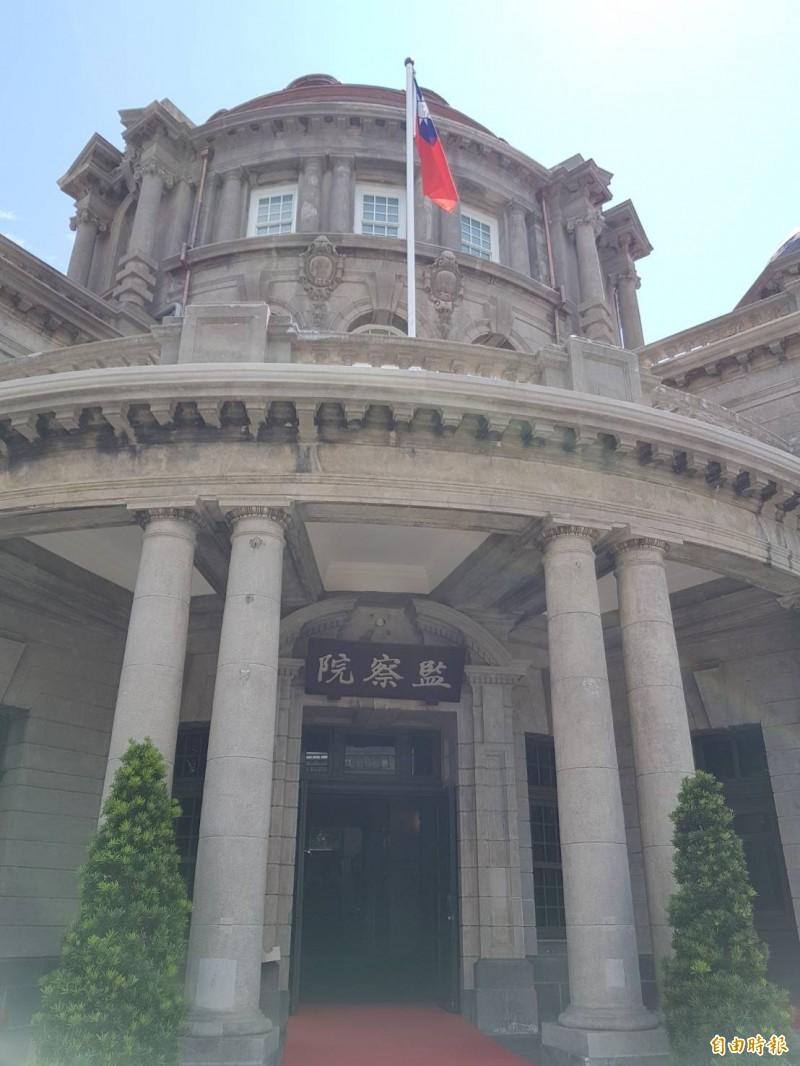 監察院通過彈劾台北市政府參議陳慶安。(資料照,記者謝君臨攝)
