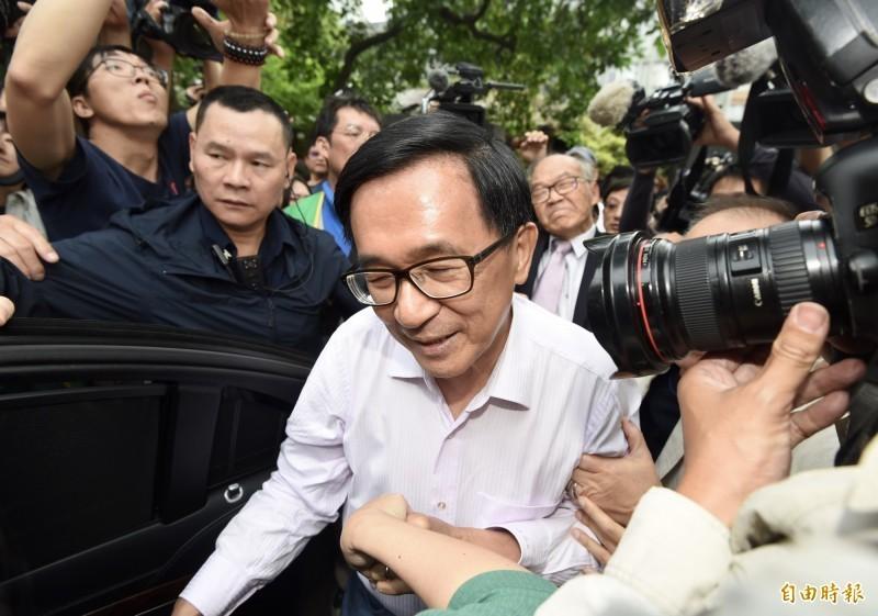 前總統陳水扁。(資料照)