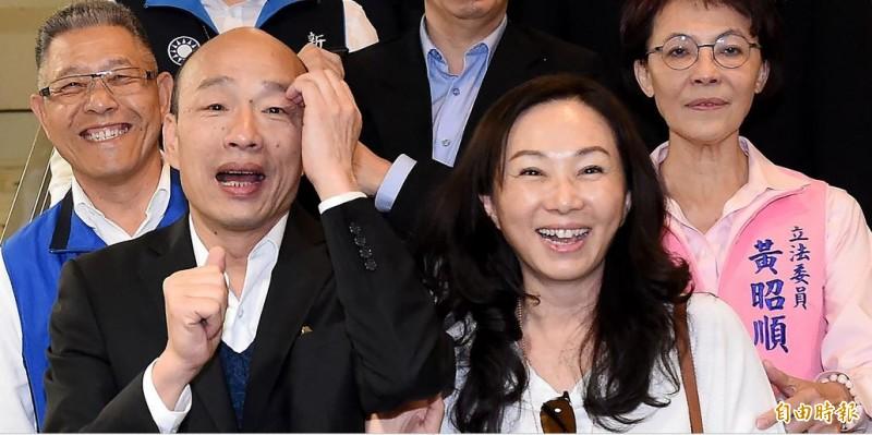 館長砲轟,韓氏夫妻都是老闆,卻自稱庶民,讓台灣小老百姓聽了會爆炸。(資料照)