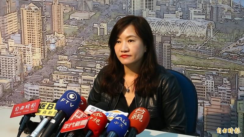 王淺秋說,韓國瑜被黑太兇,影響募款,目前競辦經費拮据。(資料照)