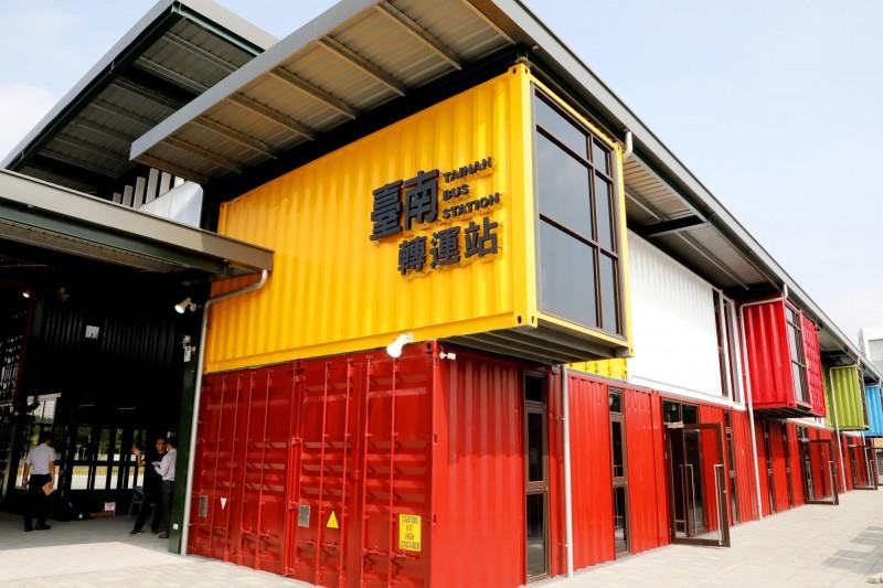 台南轉運站將於12月25日試營運。(南市交通局提供)