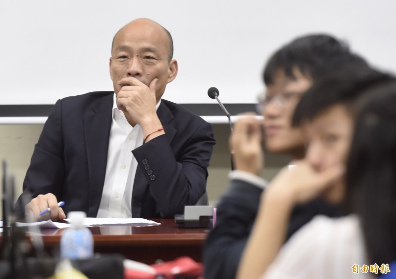 週刊指出,台灣民眾黨和時代力量合作破局,讓韓國瑜錯失分化綠營的「絕殺機會」。(資料照)