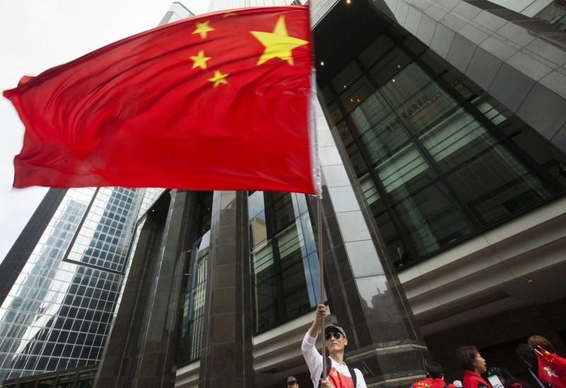 陳芳明認為,中國對香港、新疆的人權迫害,足以顯見中國根本不配稱為大國。(歐新社)