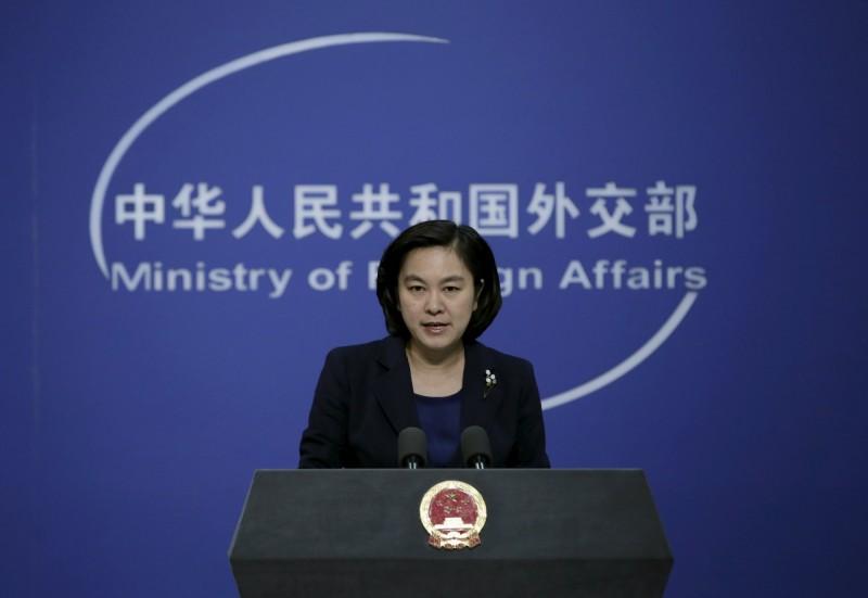 美國眾院通過《新疆人權法案》,中國外交部發言人華春瑩今發表談話,表達強烈憤慨。(路透)