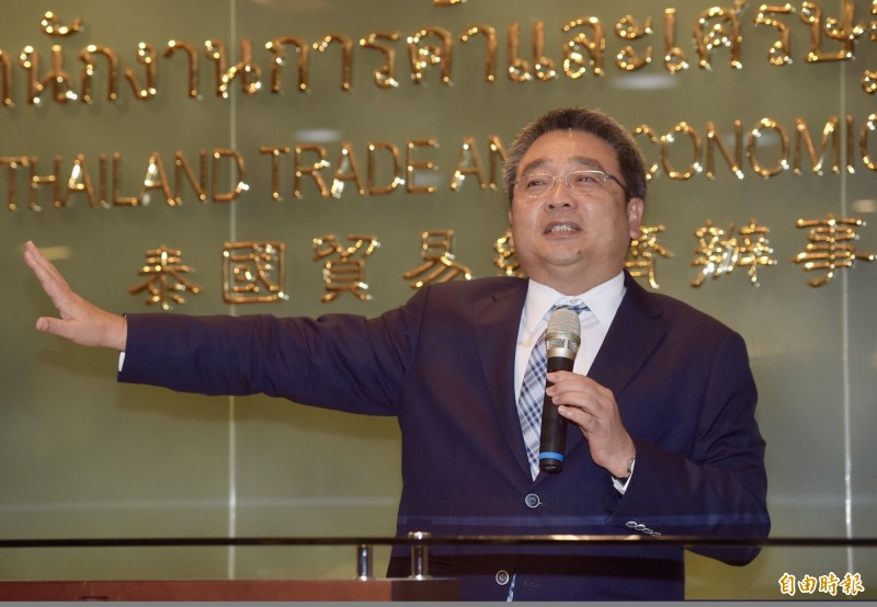 申請泰簽須附財力證明的消息,引發各界反彈,現在傳出此規定將取消。圖為泰國駐台代表通才。(資料照)