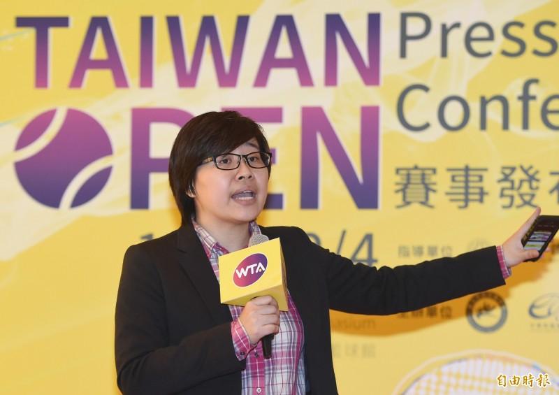「卡神」楊蕙如(圖)操控網軍一案,其律師陳偉仁被國民黨指控曾是民進黨嘉義縣黨部的律師顧問。(資料照)