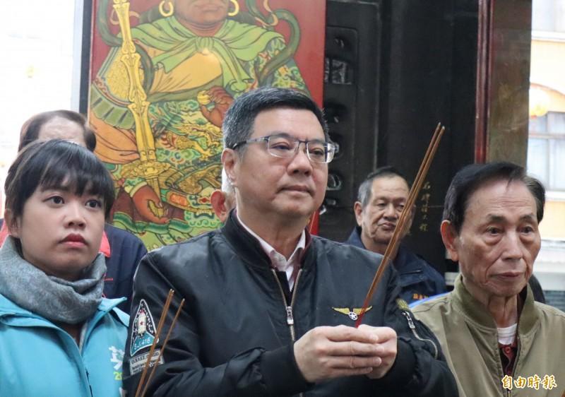 卓榮泰表示,楊蕙如事件應努力要求司法調查清楚,才能向人民說明事情的原委。(記者周湘芸攝)
